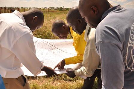 April: ZimRelief Mitglieder in Simbabwe