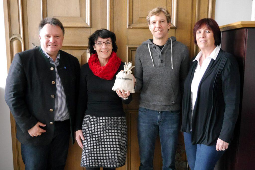 Aktion Restcent – Mitarbeiter der Stadt Kaufbeuren unterstützen ZimRelief