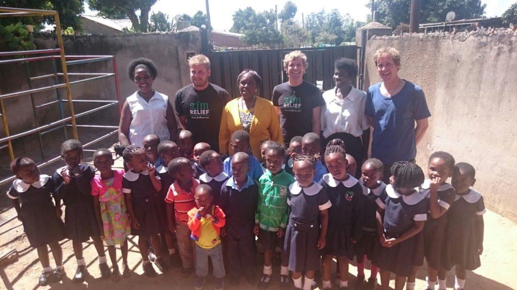 ZimRelief Mitglieder in Simbabwe