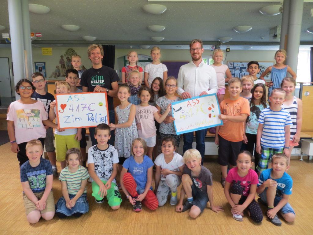 Adalbert-Stifter-Grundschule Kaufbeuren-Neugablonz unterstützt die Rising Star Schule