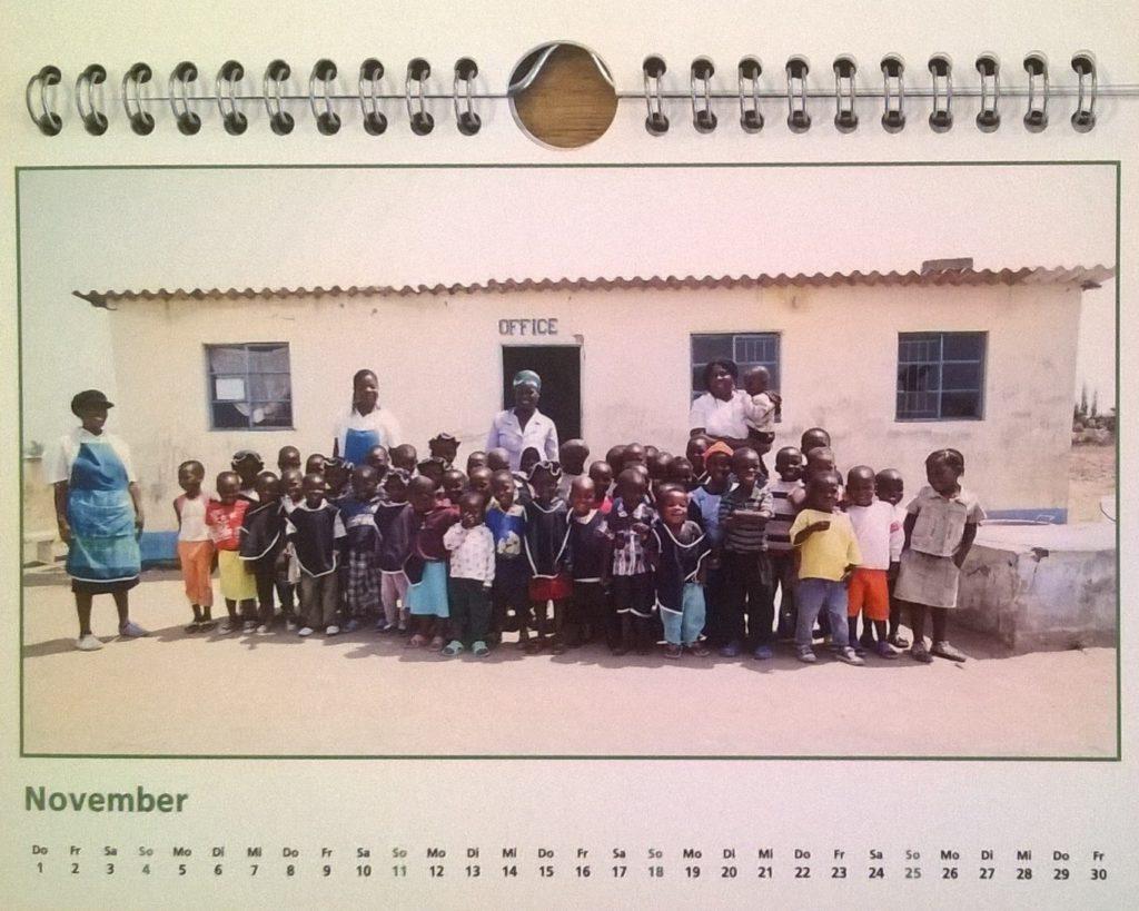 ZimRelief Jahreskalender 2018