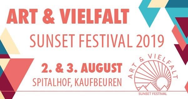 2./3. August: Charity Bierausschank beim Art & Vielfalt Festival