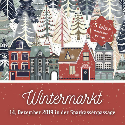 14. Dezember: Wintermarkt mit ZimRelief in der Sparkassenpassage Kaufbeuren