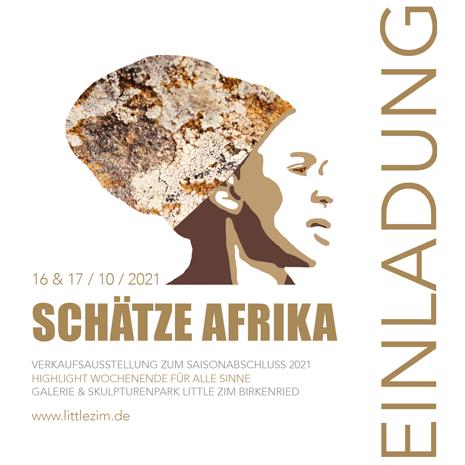 16. & 17.10: Schätze Afrikas bei Little Zim in Birkenried